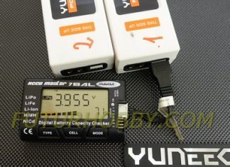 Comprobador de baterías LIpo Jamara AccuMaster