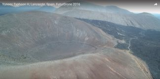 Typhoon H Advance en Lanzarote