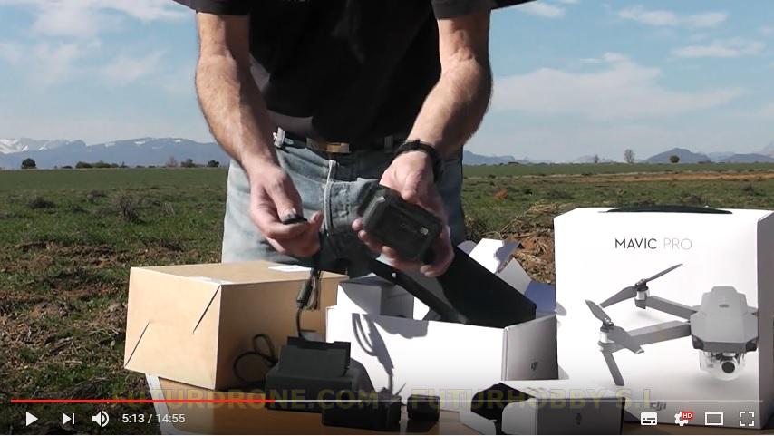 DJI Mavic Pro Fly More Combo en España