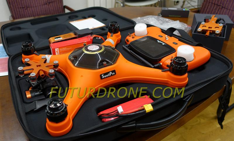 Splash Drone 3 español