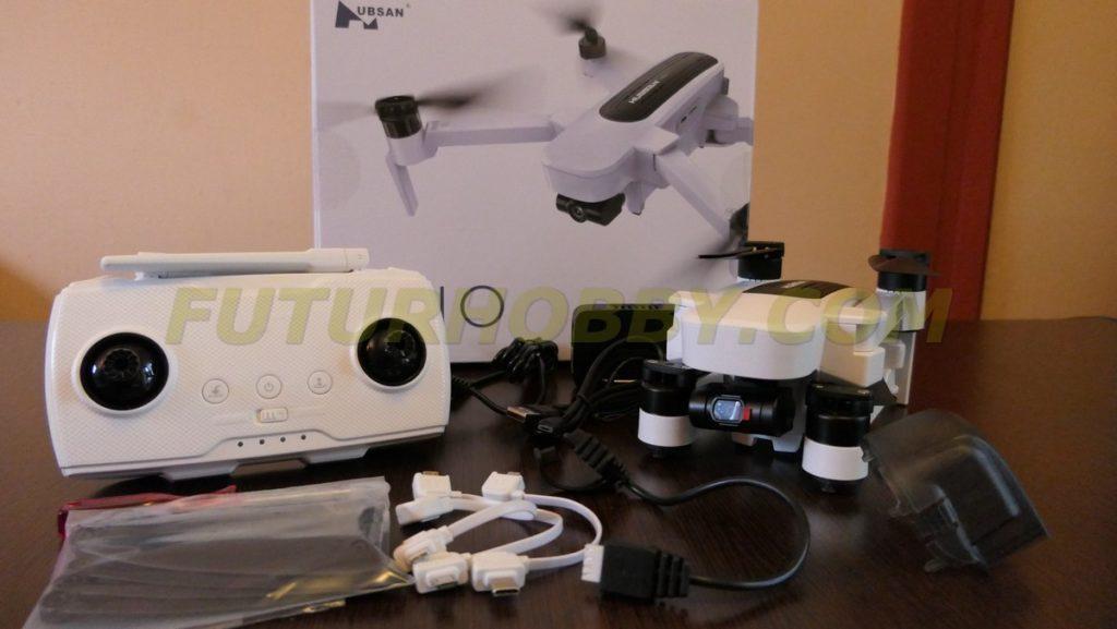 Nuevo Hubsan Zino dron plegable 4K