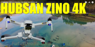 Hubsan Zino Video 4K camara