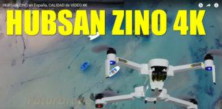 Hubsan Zino calidad video 4K