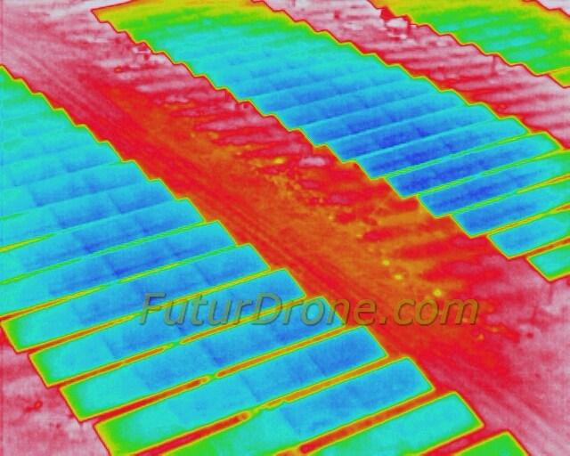Inspección de paneles solares con Dron H520 y E10T