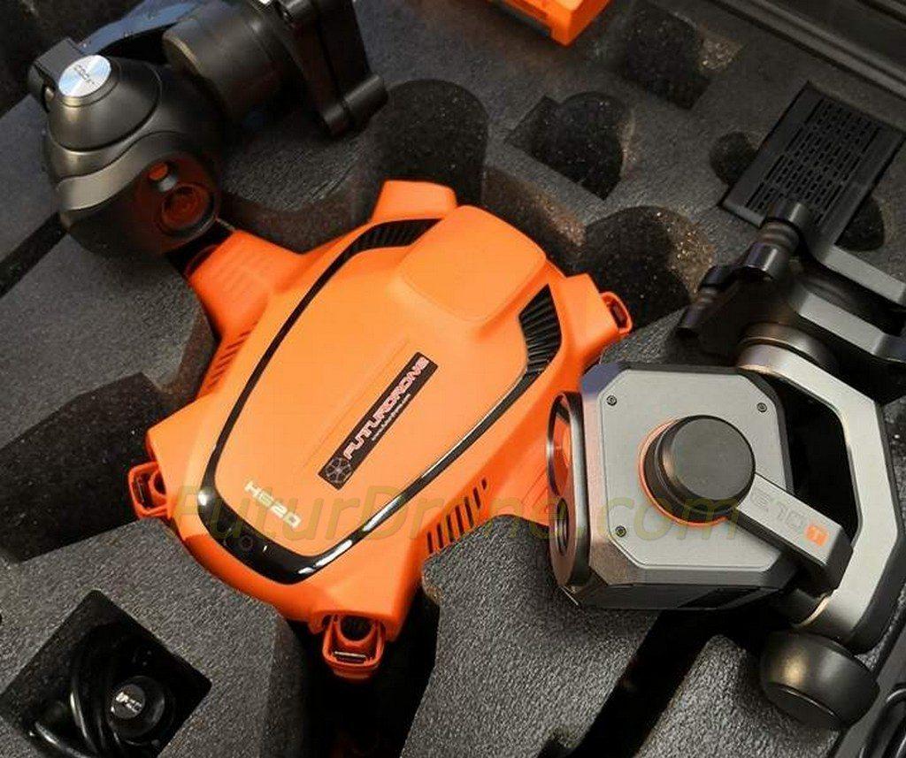 Yuneec H520 cámaras térmicas CGOET y E10T